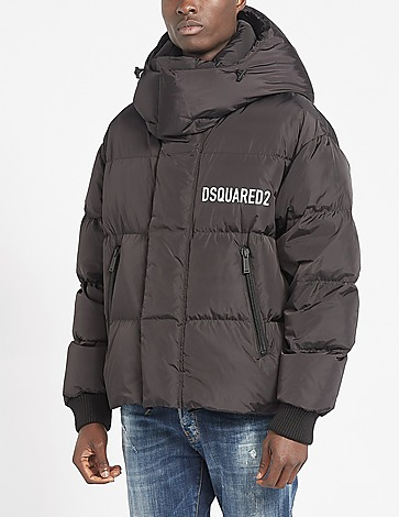 Dsquared2 Chest Logo Hood Puffer Jacket