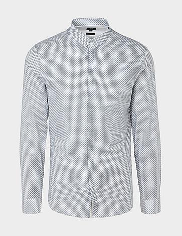 Armani Exchange Stretch Zig Zag Shirt