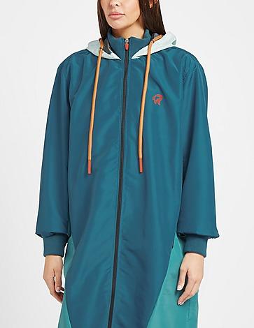 Red Run Activewear Long Tech Waterproof Jacket