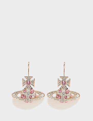 Vivienne Westwood Francette Brass Drop Earrings