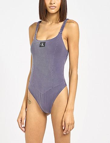Calvin Klein Swim Authentic One Piece Swim Suit