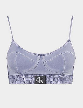 Calvin Klein Swim Authentic Denim Bralette