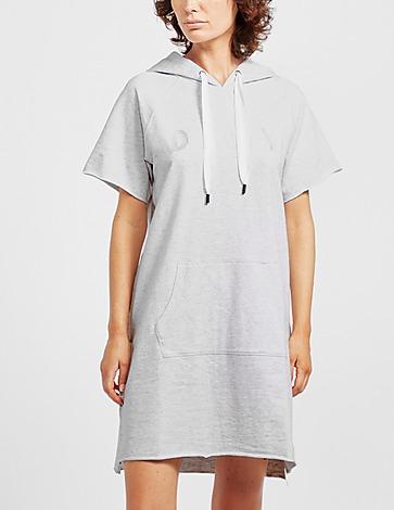 DKNY Embroidered Logo Dress