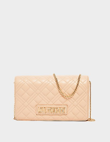 Love Moschino Quilted Box Chain Cross Body Bag