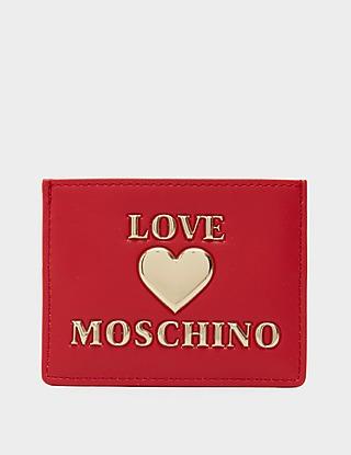 Love Moschino Logo Heart Cardholder