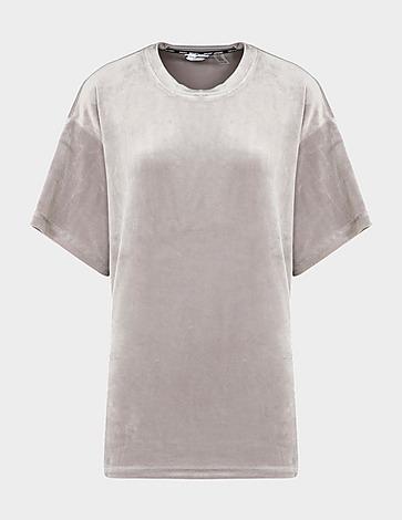 DKNY Velour Oversized T-Shirt
