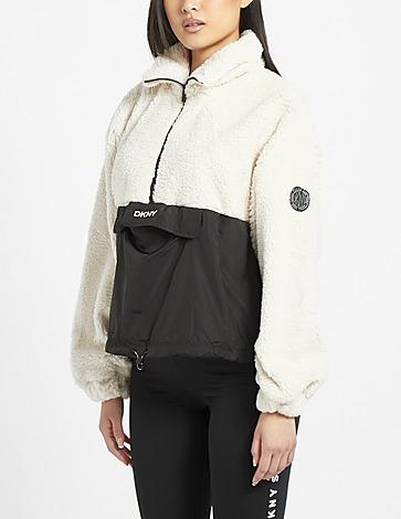 DKNY Fleece 1/4 Zip Sweatshirt