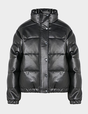 DKNY Faux Leather Bomber