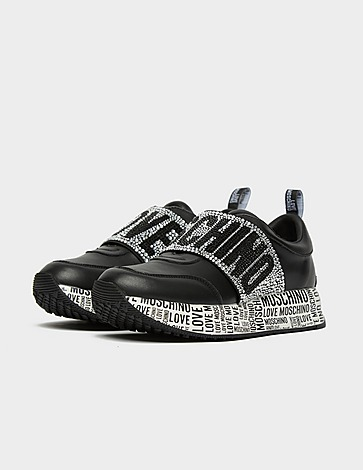 Love Moschino Crystal Strap Runners