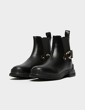 Love Moschino Buckle Chelsea Boot