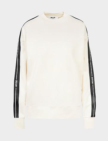 MSGM Tape Sweatshirt