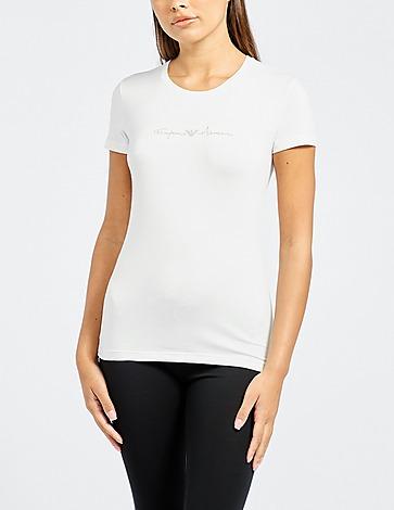 Emporio Armani Loungewear Glitter T-Shirt