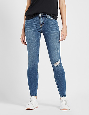 True Religion Jennie Patch Denim Jeans