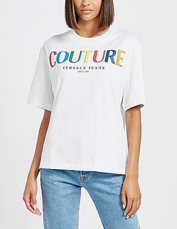 Versace Jeans Couture Multi Colour Logo T-Shirt