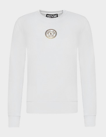Versace Jeans Couture Small Round Logo Sweatshirt