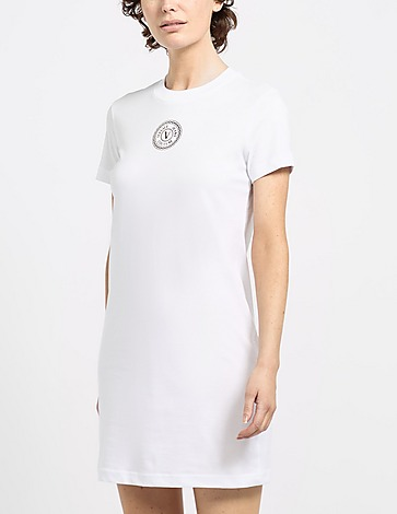 Versace Jeans Couture Small Round Logo T-Shirt Dress