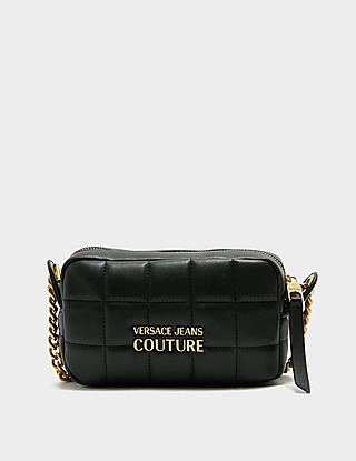 Versace Jeans Couture Quilted Chain Camera Bag