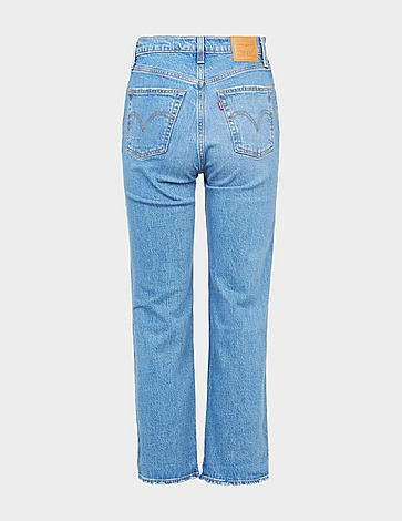 Levis Ribcage Flare Denim Jeans