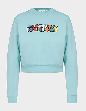 Fiorucci Mono Logo Cropped Sweatshirt