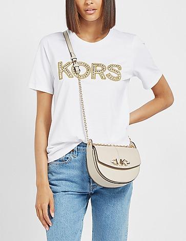 Michael Kors Izzy Chain Saddle Bag