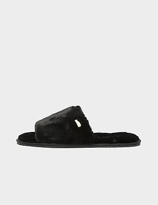 Barbour International Spada Fur Slippers
