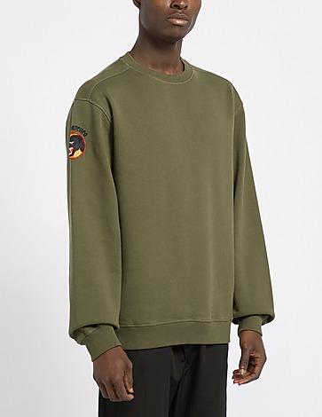 Maharishi Panther Patch Sweatshirt