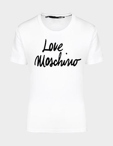 Love Moschino Script Logo T-Shirt