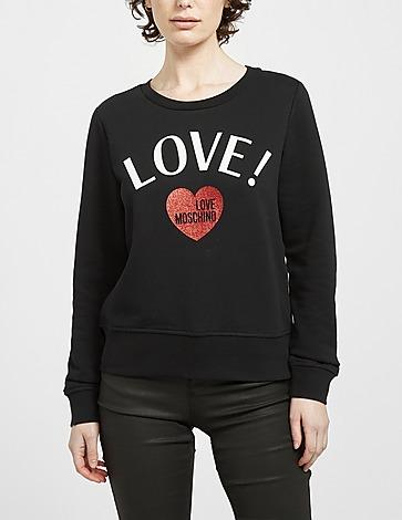 Love Moschino Love! Glitter Sweatshirt