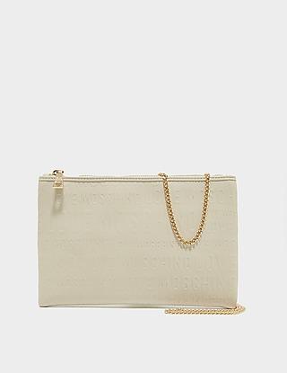 Love Moschino Embossed Chain Cross Body Bag