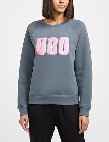 UGG Mad Fuzzy Logo Sweatshirt