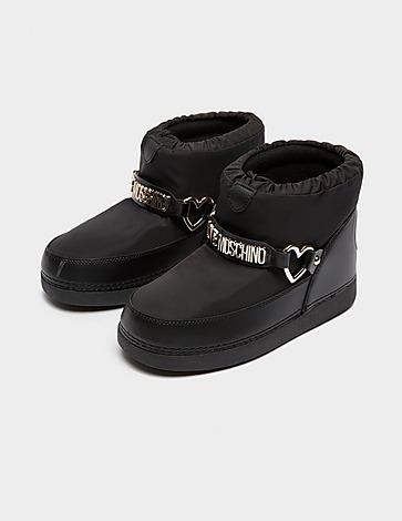 Love Moschino Nylon Booties