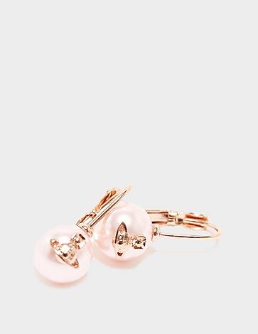 Vivienne Westwood Gia Drop Pearl Earrings