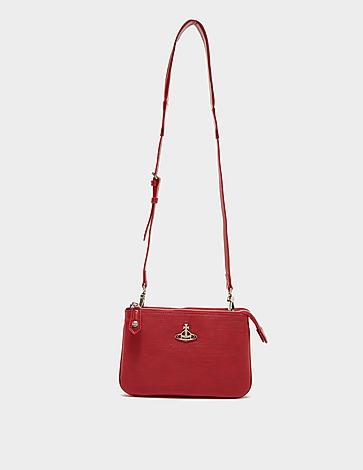 Vivienne Westwood Polly Double Zip Cross Body Bag