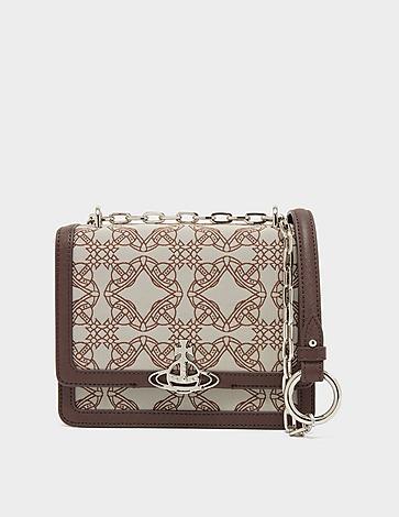 Vivienne Westwood Debbie Orb Jaquard Chain Bag