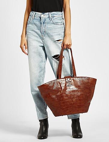 Vivienne Westwood Joanna Curved Croc Tote Bag