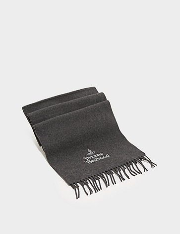 Vivienne Westwood Embroidered Lambswool Scarf