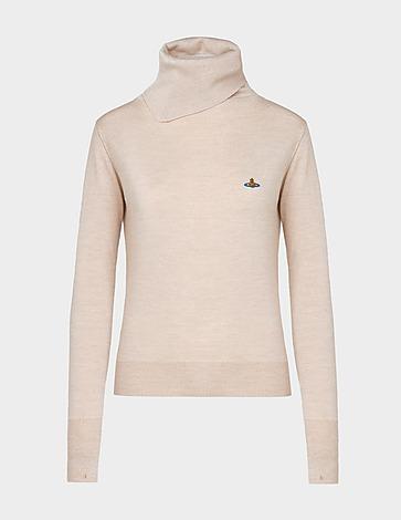 Vivienne Westwood Guila High Neck Knit Sweatshirt