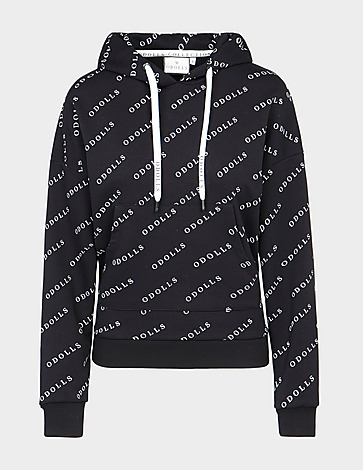 ODolls Collection All Over Print Logo Hoodie