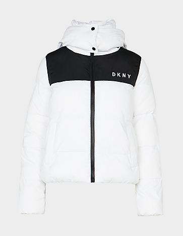 DKNY Colour Block Puffer Jacket