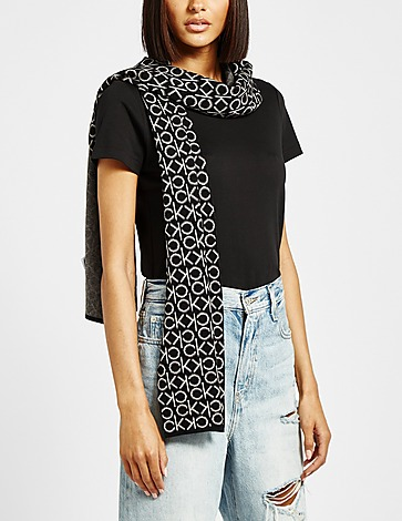 Calvin Klein Womenswear Monogram Scarf