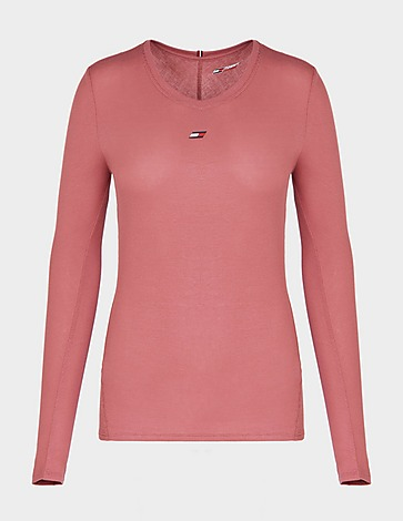 Tommy Hilfiger Sport Ribbed Long Sleeve T-Shirt