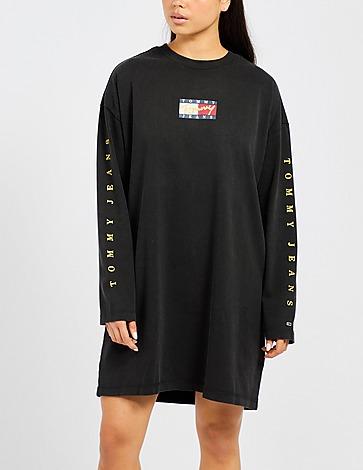 Tommy Jeans Bronze Logo T-Shirt Dress