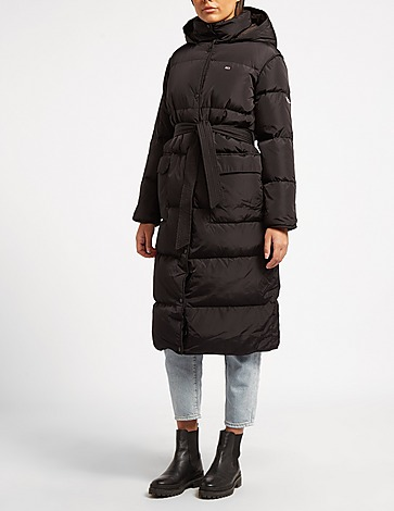 Tommy Jeans Long Belted Coat
