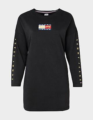 Tommy Jeans Curve Bronze T-Shirt Dress