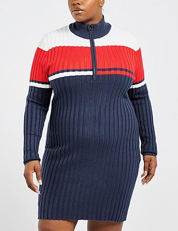 Tommy Jeans Curve Colour Block Zip Dress