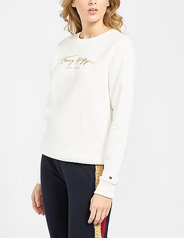 Tommy Hilfiger Gold Script Sweatshirt
