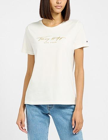 Tommy Hilfiger Lurex Embroidered T-Shirt