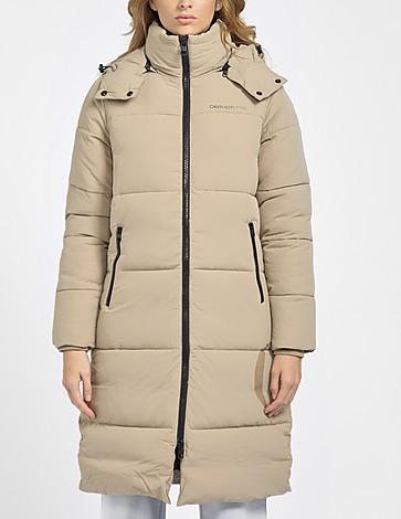 Calvin Klein Jeans Side Logo Long Puffer Coat
