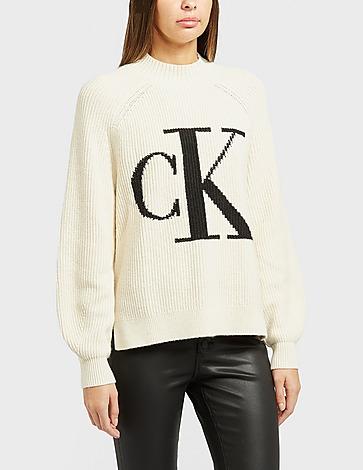 Calvin Klein Jeans Logo Knitted Jumper