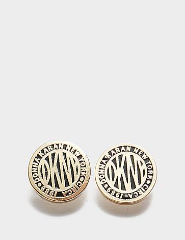 DKNY Jewellery Coin Stud Earrings